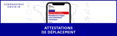 Confinement 2 - Attestations de déplacement 2