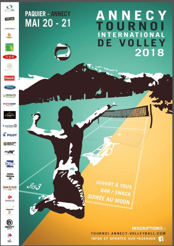 Tournoi de Volley de la Pentecôte 2018