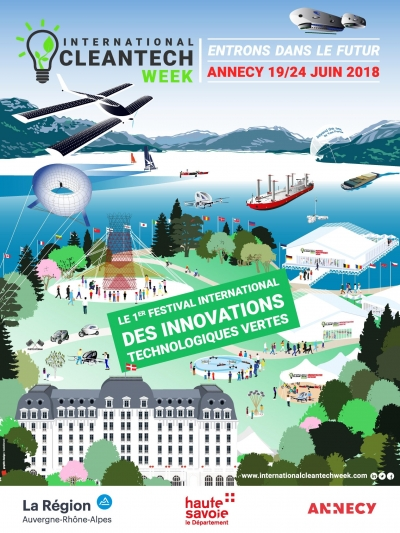 L'INTERNATIONAL CLEANTECH WEEK - 1er Festival International des innovations tech vertes !
