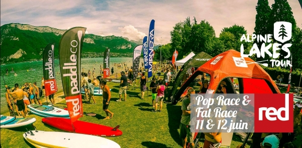 Tour du lac d'Annecy en Stand Up Paddle ! La FAT RACE