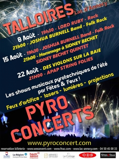 Pyroconcert 2019 / Joshua Burnell, Lord Ruby, Gilles Apap..