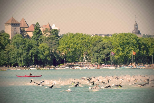 30ème édition du Triathlon Internationnal d'Annecy