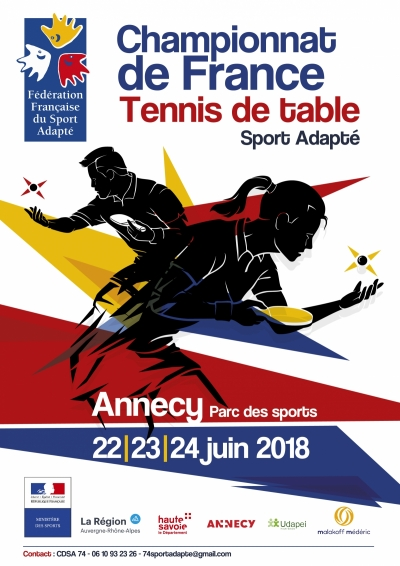 Championnat de France de tennis de table adapté