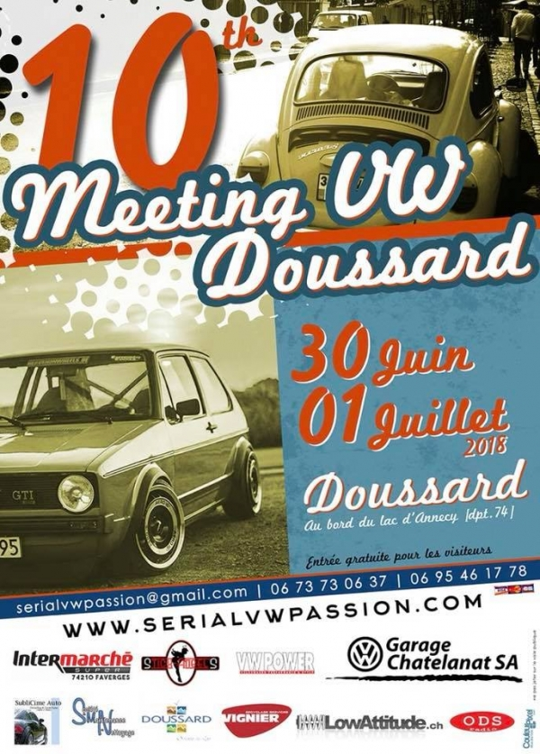 10ème Édition du Meeting Serial VW Passion