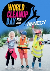Inscrivez-vous au World Clean Up Day Annecy 2019 !