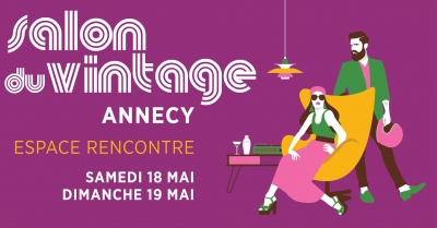 Salon du Vintage d'Annecy, un weekend shopping rétro
