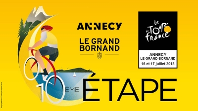 Le Tour de France (Étape 10) : Annecy - Le Grand-Bornand