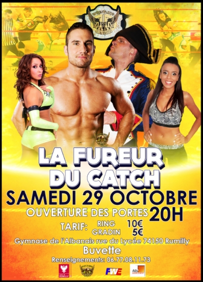 Gala : la fureur du Catch !