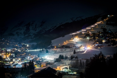 Full Moon à la Clusaz !